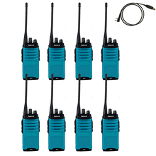 8X FM Radio Walkie Talkie Retevis RT7+A Free USB Cable 5W 16CH UHF400-470MHz Hf Transceiver Amateur Portable 2 Way A9111L - Yisair Electronic Tech Store store