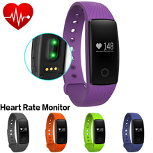 Heart Rate Smartband Smart Sport Bracelet Wristband Fitness Activity Tracker Bluetooth PK Xiaomi Mi Band for IOS Android Miband