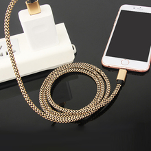 Buy 2A Nylon USB Data Sync Charger Cable Micro USB Data Datum Sync Charger Cable iPhone 5 5s 6 6s 6Plus Power Bank Fast Charge for $2.99 in AliExpress store