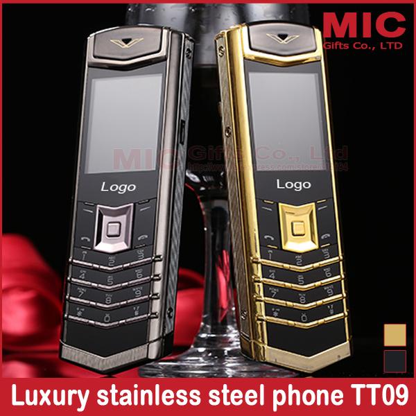 2015 bar lujo larga espera mutiple idiomas marca de metal de acero inoxidable de banda cuádruple teléfono móvil ruso francés griego M6i P429(China (Mainland))