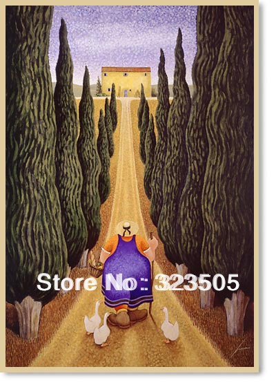 Famous Painting wall art painting free shipping to Italy French Russia USA Australia(China (Mainland))