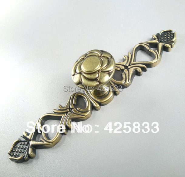 Single Hole Antique Assembly Bronze Furniture Knobs Kitchen Cabinets Handle Hardware Pulls Knobs(China (Mainland))