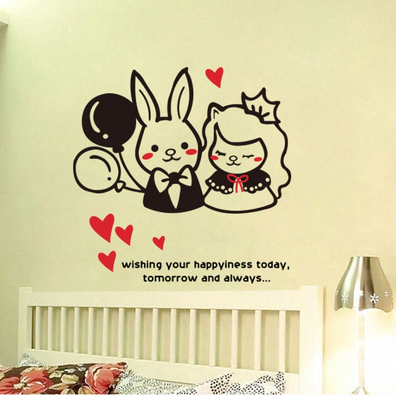 50*50cm Cozy living room removable wall stickers home accessories Paper stickers home decor(China (Mainland))