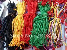 BB-094 Tibetan handmade colorful Kingkong knots bracelet 100pcs lot Fork Lovelace lucky knots Wholesale Friendship bracelets(China (Mainland))