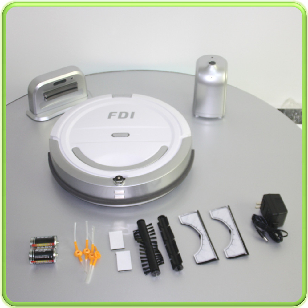 cordless vacuum cleaner electric sweeper robot aspirateur(China (Mainland))