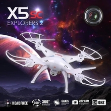 Original SYMA X5SW X5SC WIFI RC Drone fpv Quadcopter with Camera Real Time RC Helicopter Quad copter Toys FSWB