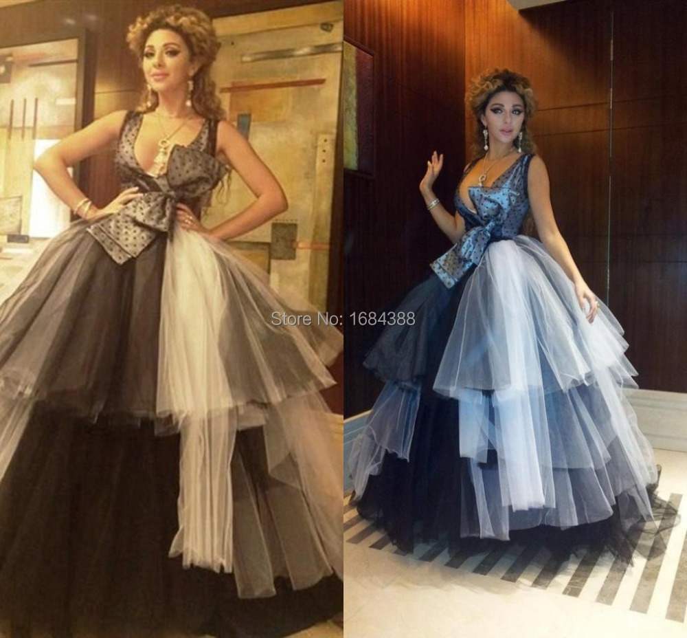 Быстрая доставка знаменитости платье новый конструктор атласная тюль бальное платье аравия Myriam тарифы платья бак ну вечеринку платья с цветком