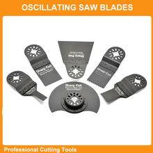 Wholesales:6pcs/set Wood Cutting Blades Kit Universal Oscillating Tool Saw Blades Accessories fit for Multimaster power tools