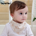 New Arrival Natural Cotton Newborn Baby Bibs Soft Bib Burp Cloth For Babies New Brand Girls