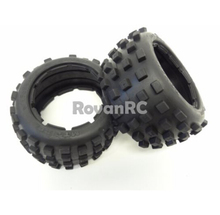 Buy Rovan Rear Knobby MT Road Tires, 2 Fits HPI Baja 5B SS 2.0 King Motor Buggy for $27.00 in AliExpress store