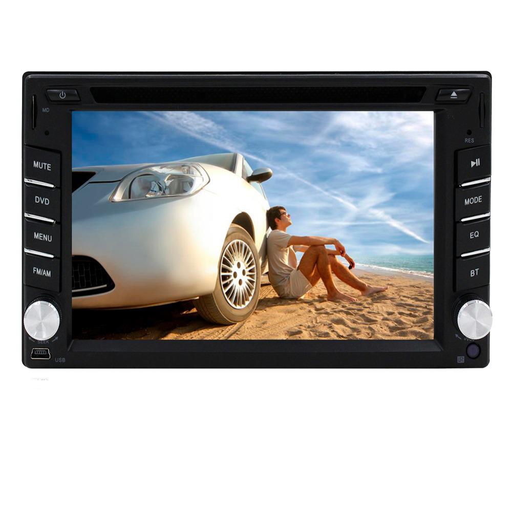 "Здесь можно купить  Universal Double 2 Din 6.2"" Touch Screen In Dash NO-GPS Car DVD CD Player Car Video Built-in Bluetooth FM/AM Radio USB SD  Автомобили и Мотоциклы"
