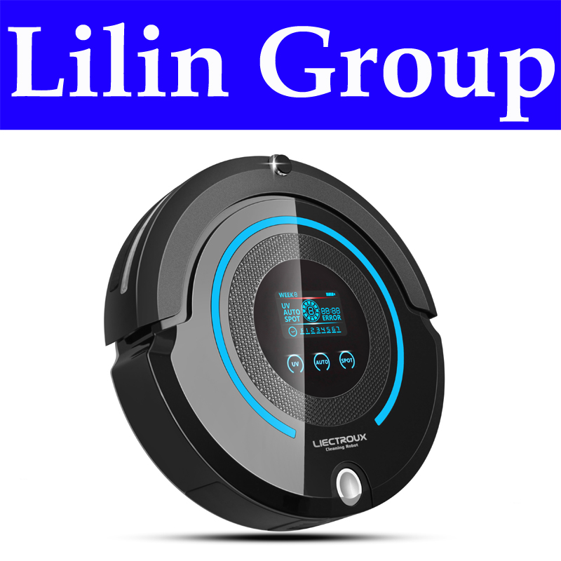 LIECTROUX A338(FBA) Multifunction Robot Vacuum Cleaner Automatic (Sweep,Vacuum,Mop,Sterilize),Schedule,VirtualBlocker,SelfCharge(China (Mainland))