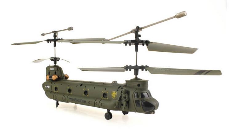 2pcs/lot Hot Sale UDI U815 Syma S022 3 channel radio control rc helicopter ready to fly RTF Big CH-47 Chinook Drone Glider/Heli(China (Mainland))