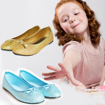 2015 мода блеск обувь для девочек детей, скольжения на детей девушки балетные туфли с бантом, подарок дети девушки ботинок квартир, Sapatos Meninas