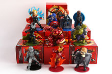 The Avengers of Ultron Iron man Thor Captain America Action Figures Painted Brinquedos Doll PVC Kid Toys Birthday Gift Anime