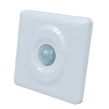 Inicio de luz Led cuerpo humano interruptor Detector PIR Sensor de movimiento infrarrojo interruptor interruptor del módulo automático de montaje en techo para llevó la lámpara