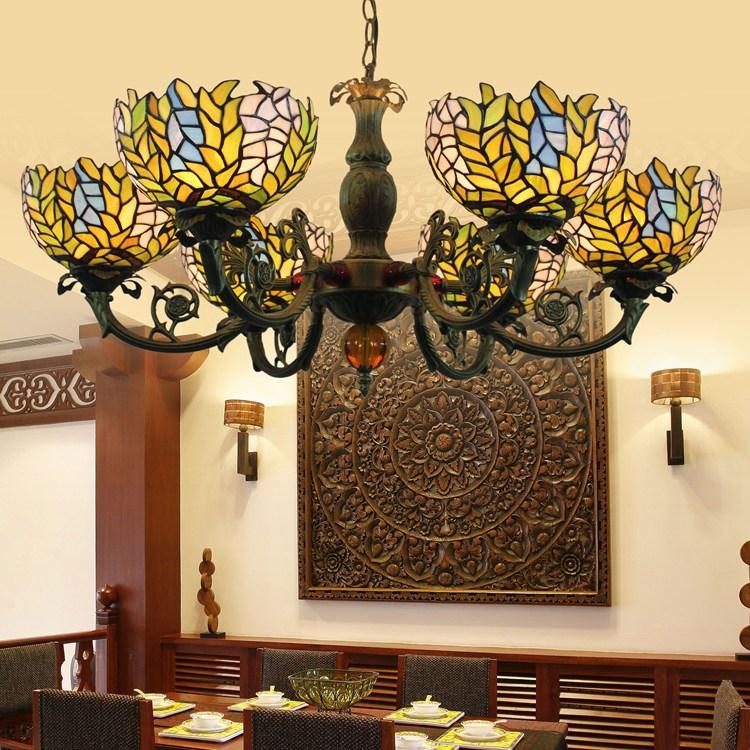 European tiffany lighting dining room bedroom kitchen for Tiffany d dining room