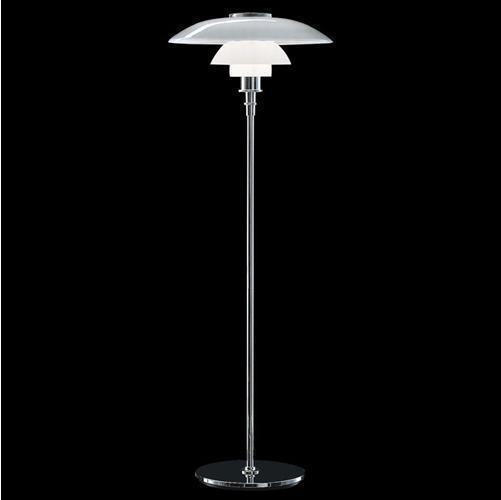 new arrival design Louis poulsen poul henningsen glass ph floor lamp high 140cm free shipping(China (Mainland))