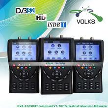 DVB-S2/ISDBT compliant HD Meter WS-6906T satellite finder meter