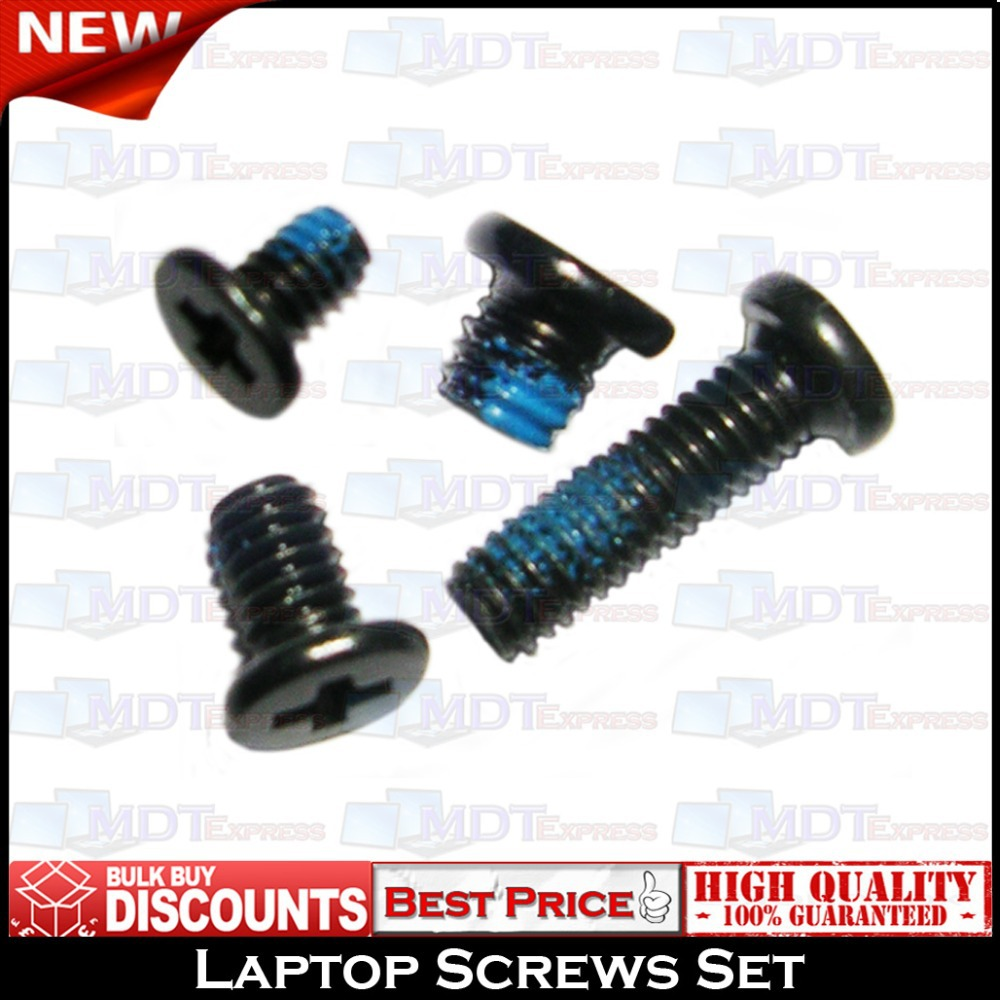 New! Laptop Screw Set Pack For NEW DELL Latitude E6400 ATG XFR E6410 Free shipping(China (Mainland))