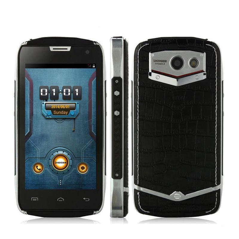 Original Doogee DG700 TITANS 2 IP67 Waterproof Cell Phone MTK6582 Quad Core 1GB RAM 8GB ROM 8MP 4000mAh Android 5.0 WCDMA OTG(China (Mainland))