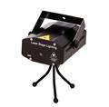 מכירה קמעונית 150mW 4in1 מיני לייזר תאורת הבמה אפקט לייזר מקרן מסיבת דיסקו dj אור 110-240V עם חצובה