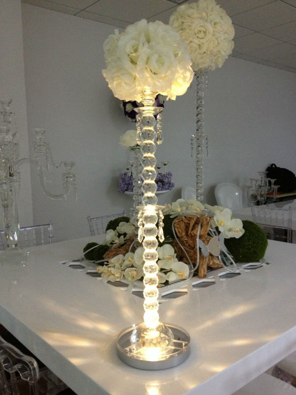 (20 pieces/ Lot) Battery Operated Remote Controlled Multicolors LED Centerpiece Light Wedding Decor 8inch LED Under Vase Light(China (Mainland))