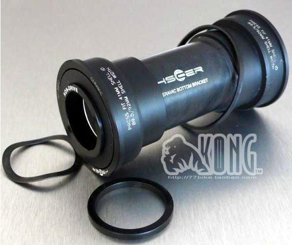 HSCER BB90 BB91 BB92 bottom bracket G3 ceramic silicon nitride ceramic bearings, MTB tonic(China (Mainland))