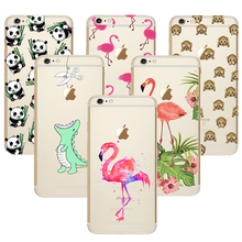 Buy Coque iPhone 5C Silicon Case Ultra Thin Case Cover TPU Rubber Gel Transparent Clear Back Case Cute Cartoon Print Design for $2.22 in AliExpress store