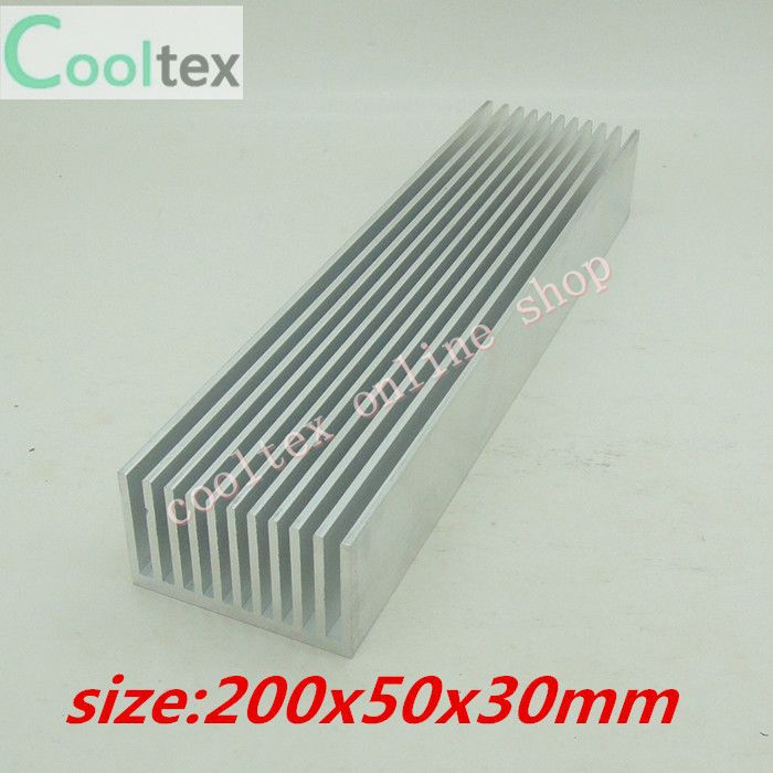 200x50x30mm Aluminum radiator High-power HeatSink electronic Chip CPU GPU VGA RAM LED IC Heat Sink COOLER cooling - cooltex online shop store