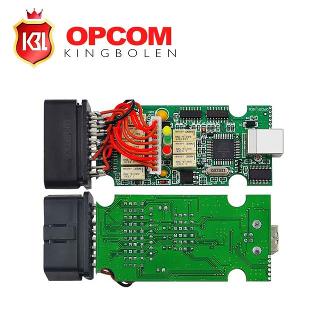 With PIC18F458 Chip inside OPCOM OP COM V2010 V1.45 Professional Diagnostic Tool for Opel OP-COM In stock