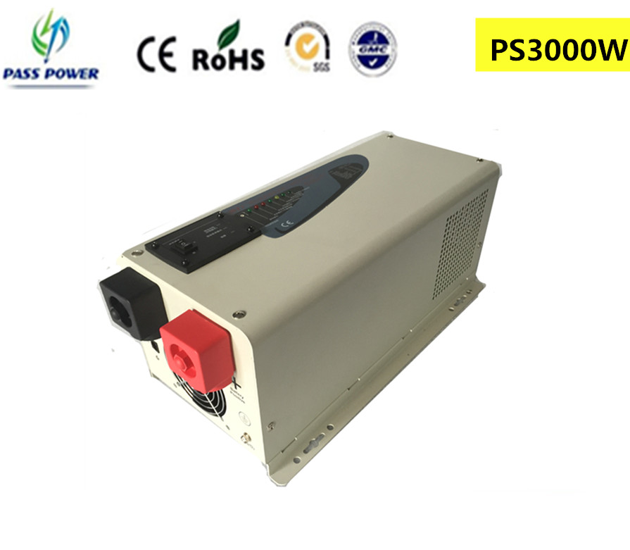 3000W/3KW 12/24/48V Pure Sine Wave Solar Inverter Charger with LCD display ,CE&RoHS approved(China (Mainland))