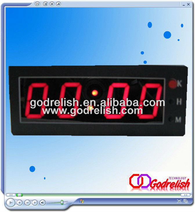 Free shipping small led digital clock(China (Mainland))
