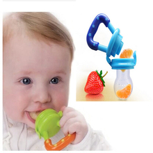 Baby Infant Pacifier Feeding Nipples Soft Feed Tool Fruit Juice Bite Bags 4colors Vegetable & Fruits Sucking Nipple(China (Mainland))