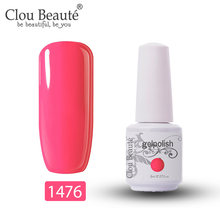 Clou Beaute Gel Vernis à ongles Gel Lak Art ensemble pour manucure UV Vernis Semi Permanent Gellak 85 couleurs Gel Vernis Vernis à ongles 8ml(China)