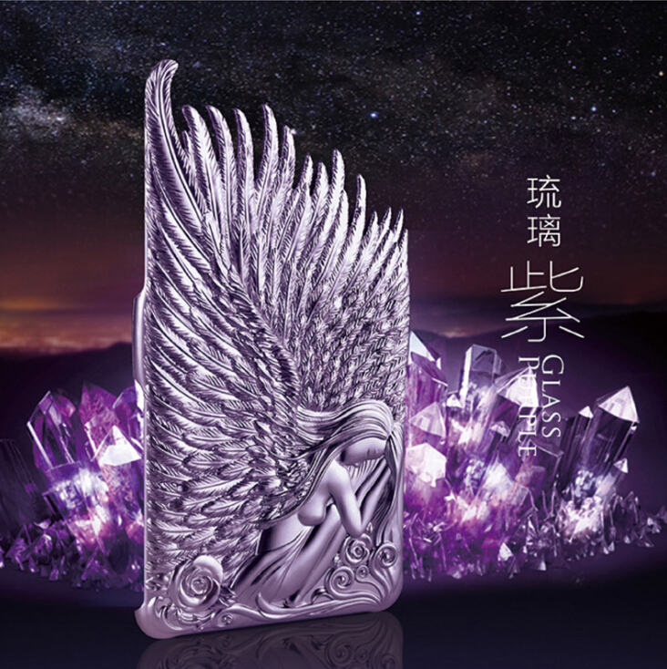 New popular case angel wings PC cover for iphone 6/6plus hot sale(China (Mainland))