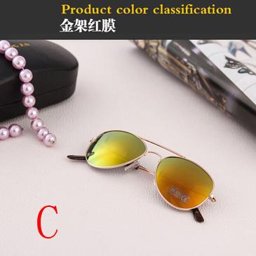 Hot Fashion Luxury Kids Children Children Sunglasses Polarized 2015 Color Polycarbonate Lens Metal Frames Boys Gifts xu1007(China (Mainland))