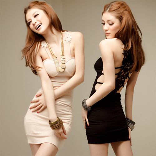 2012 racerback cutout crochet party sexy slim hip spaghetti strap pad one-piece dress Clup Black Nude  charmingОдежда и ак�е��уары<br><br><br>Aliexpress