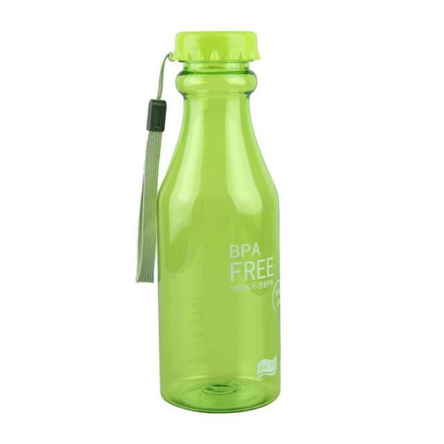 Сказочный 2015 550 мл мода открытый многоцветный велосипед спорт нерушимая botelle пластиковые бутылки с водой бесплатная доставка