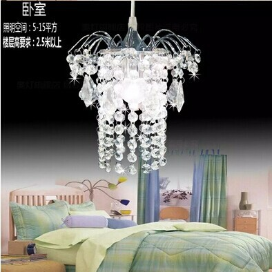 Modern led crystal chandelier fashion pendant lamp k9 Crystal home decor