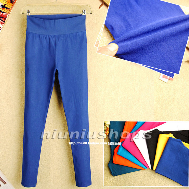 M 2013 candy color denim pants all-match legging skinny casual pants