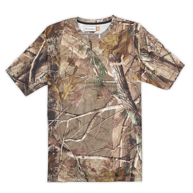 Men bionic camouflage quick drying t shirt hunting fishing for Camo fishing shirts