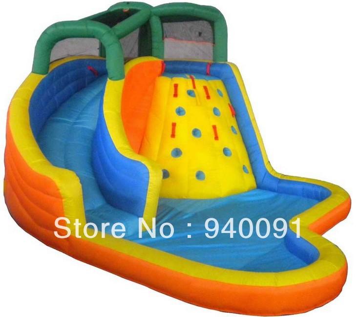 Factory direct inflatable trampoline slide, inflatable castle, inflatable bouncer, NC-019 inflatable water slides(China (Mainland))