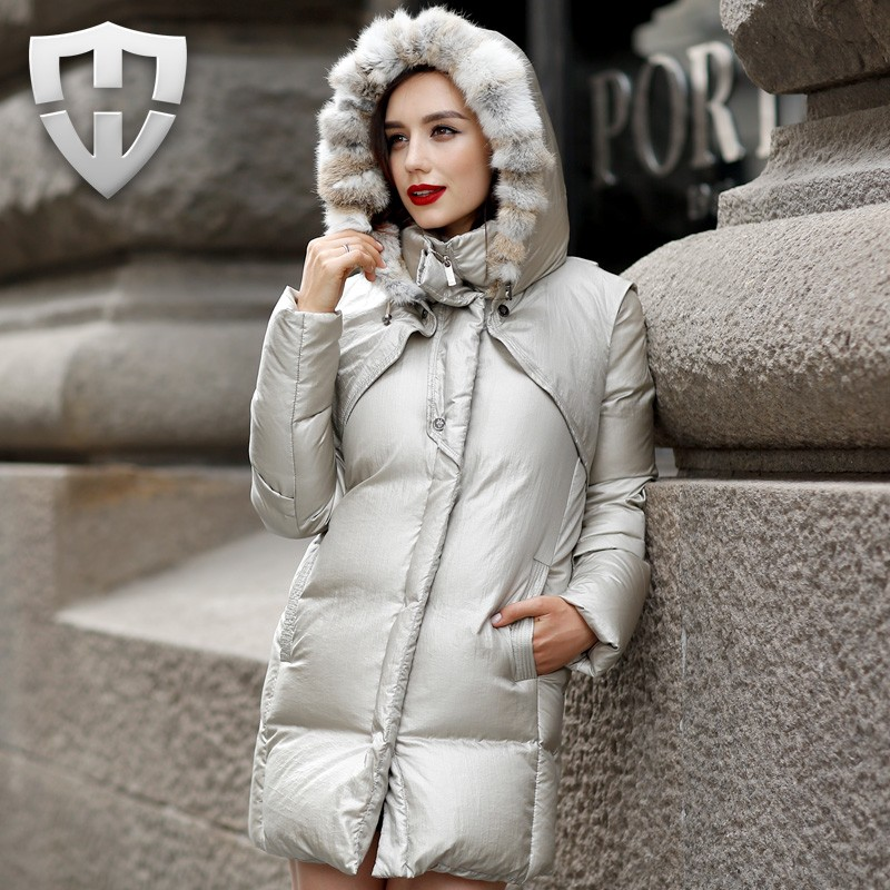 Wadded Jacket Female 2016 New Women's Winter Jacket Down Cotton Long Jacket Slim Parkas Ladies Coat Plus Size L M,L