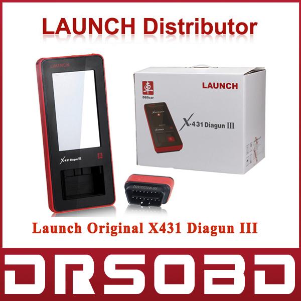 Hot Sales Launch X-431 Diagun 3 Auto Scanner Global Version Launch X431 Diagun III Car Diagnositc Scan Tool Free Online Update(China (Mainland))