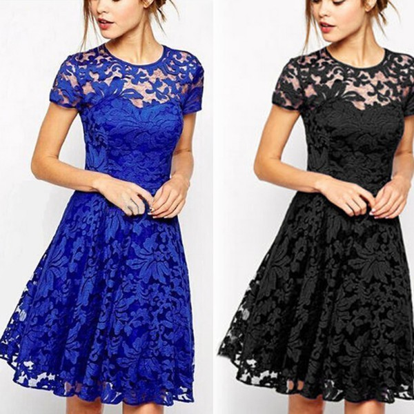 2017 Wholesale Wj 2017 Sexy Women Floral Lace Dresses Ukraine ...