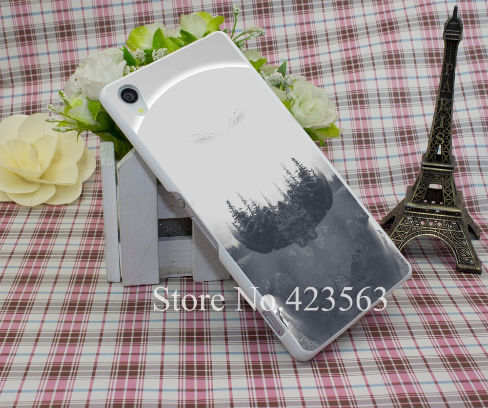 we used to wait Luxury Phone Cases Style Hard White Case Cover for Sony Xperiia Z2 Z3 + Z4 L50W L50T(China (Mainland))