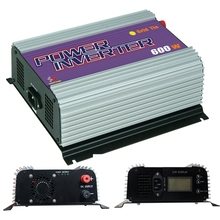 600W 110VAC Small Pure Sine Wave Grid Tie Inverter PV System LCD Display 10.8V-30V / 22V-60VDC Optional SGPV MPPT Function(China (Mainland))