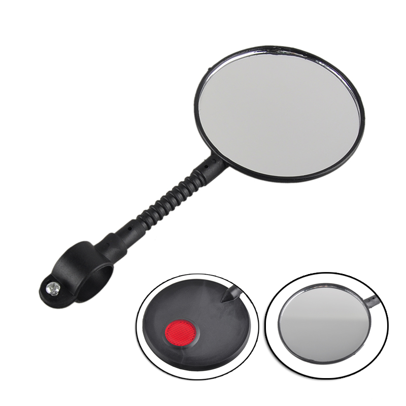 Bicycle Rearview Mirror Bicycle Accessories 1pcs Rear View Mirror Safety Mirror Bicycle Parts Reflector Flat Cycling Handlebar(China (Mainland))
