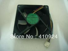 Used Free Shipping DC 12V 0.50A Server Square Fan ADDA AD0912UX-A7BGL Server Square Fan N2 92x92x25mm
